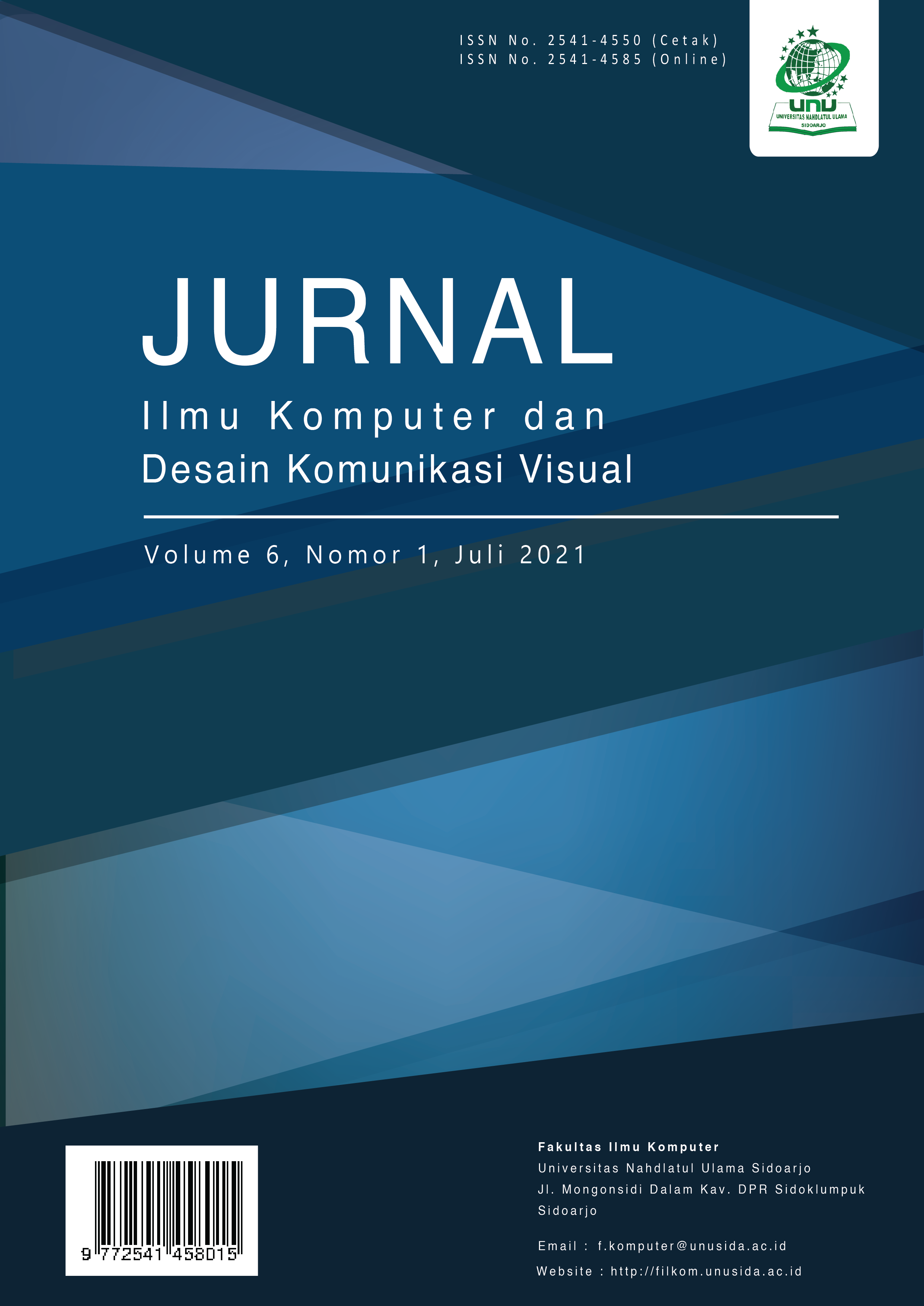 View Vol. 6 No. 1 (2021):  Journal of Computer Science and Visual Communication Design